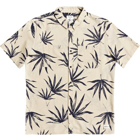 Quiksilver Deli Palm SS Shirt Men parchment deli palm